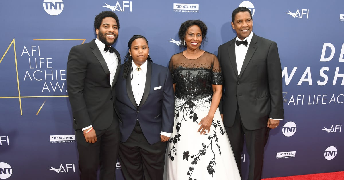 Aw! Denzel Washington Was Happily Surrounded by Family While Being Honored at the AFI Gala