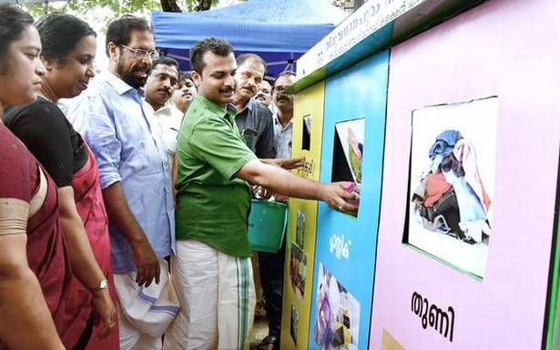New waste collection hub at Sasthamangalam