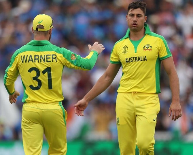 Australia's Stoinis to miss Pakistan game, Mitchell Marsh flown in as cover