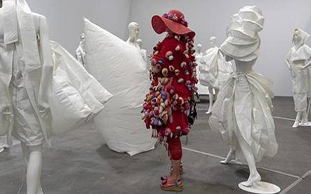 Women artists bring #MeToo reckoning to Basel fair