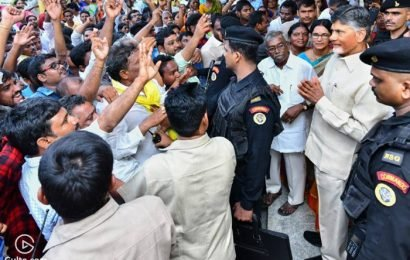 Take Our Lands, But Stay With Us – Farmers Tell Naidu