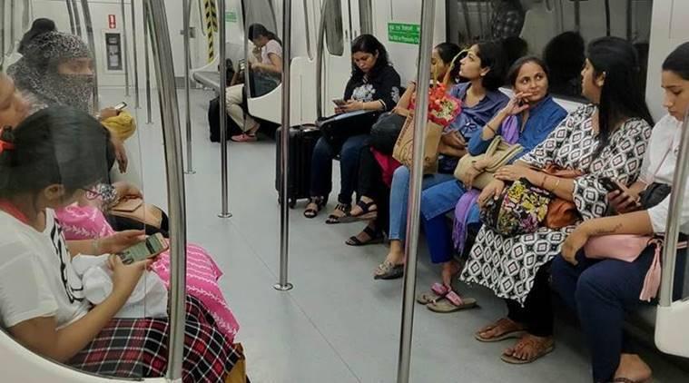 Delhi Metro sends report on free rides to women to Delhi government