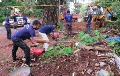 Areas around Kulashekara cleaned