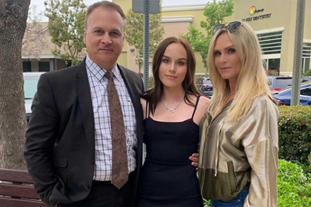 Tamra Judge reunites with ex-husband Simon Barney for daughter's dance