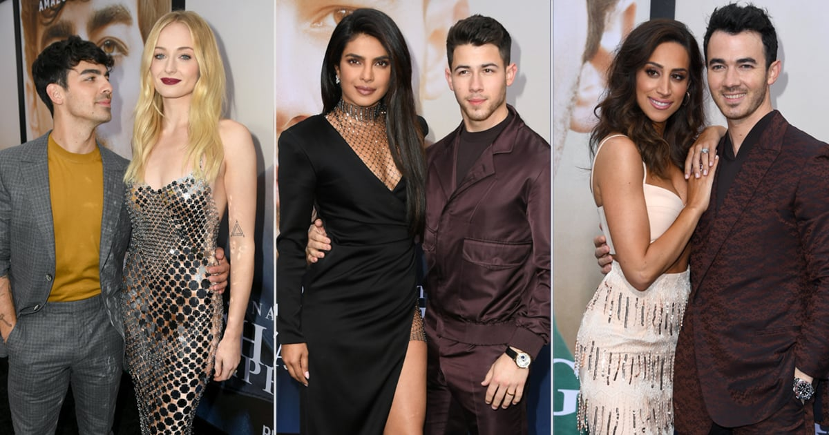 Sophie, Danielle, and Priyanka Stole the Show at the Jonas Brothers' Movie Premiere