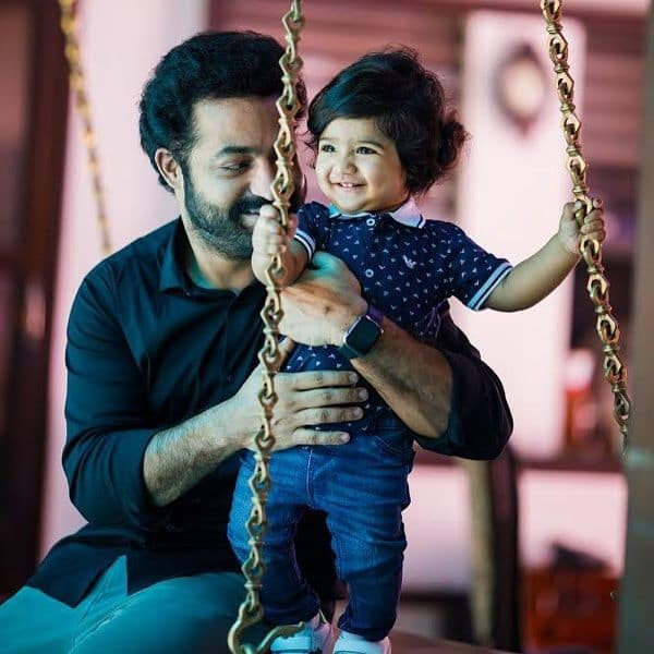 #HappyBirthdayBhargavaRam: Jr NTR shares some cute pics of his little munchkin which are truly unmissable | Bollywood Life