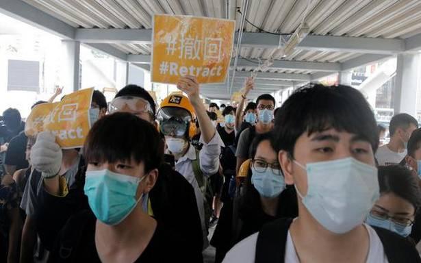 Hong Kong facing biggest political crisis since its handover to China