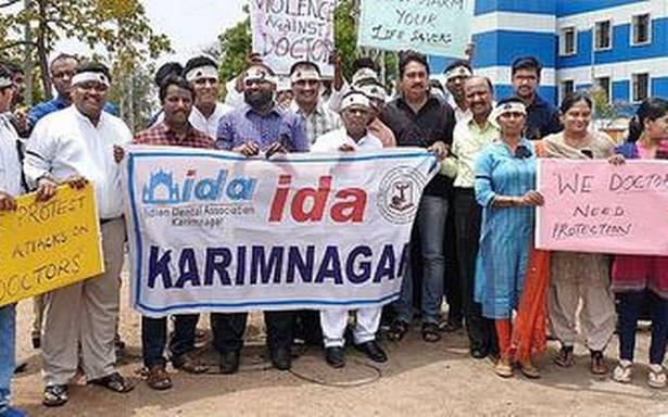 Private hospitals shut shop in Karimnagar