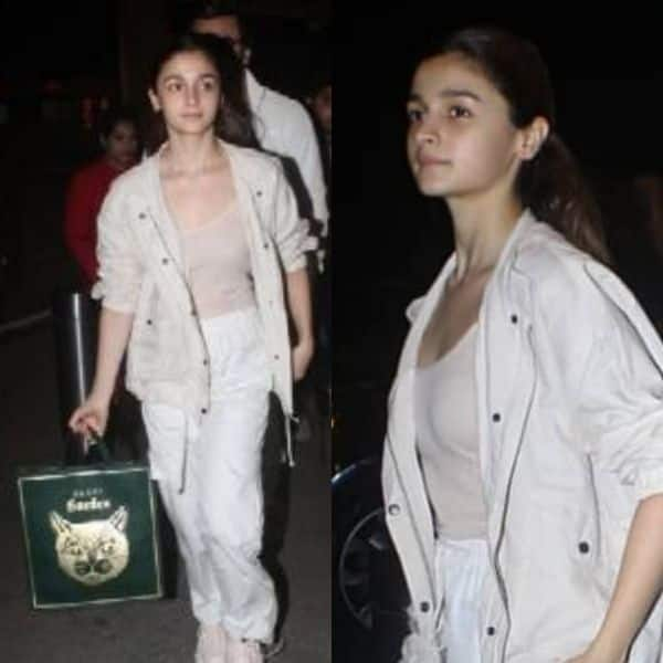 It's Expensive! Alia Bhatt flaunts a Gucci bag worth Rs 1.67 lakh at the airport | Bollywood Life