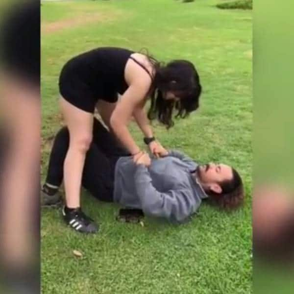 Aamir Khan and daughter Ira indulge in fun play – watch video | Bollywood Life