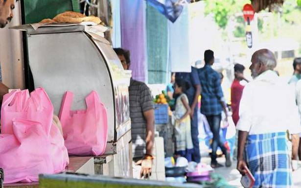 Banned plastic resurfaces in eateries across Madurai
