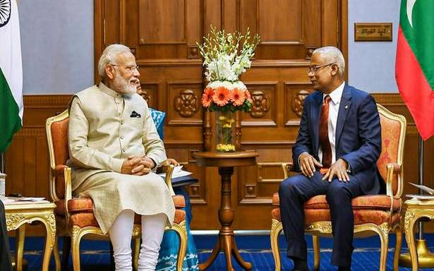 PM Modi, President Solih inaugurate India-built Coastal Surveillance Radar System