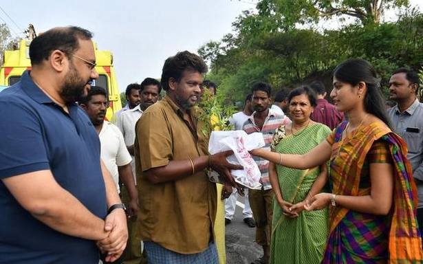 Saplings distributed for a greener, cleaner Earth