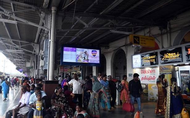 Tiruchi junction surpasses ₹ 100 crore in originating passenger earnings