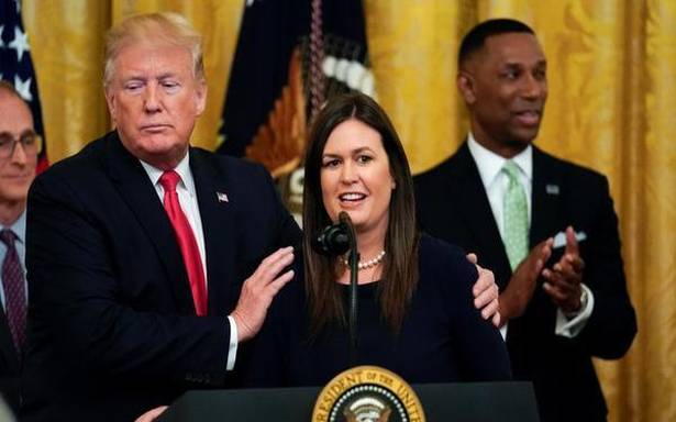 Trump loses loyalist Sarah Sanders in another White House departure