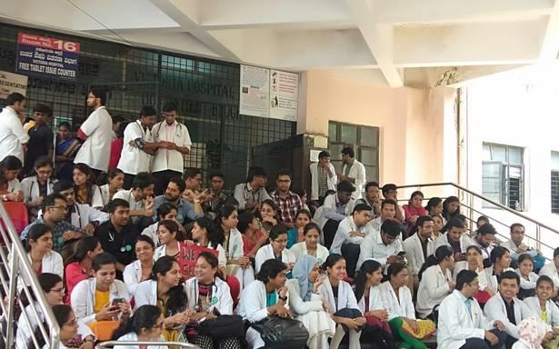 All India doctor's strike: OPD shut at Victoria hospital, Bengaluru