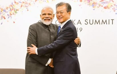 PM Modi meets South Korean President Moon, discusses ways to enhance trade ties | world news | Hindustan Times