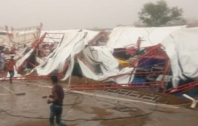 14 killed, many injured after tent collapses in Rajasthan's Barmer: Report