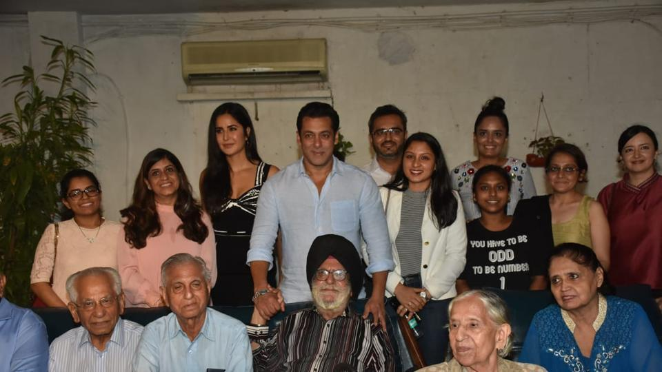 In a Bharat replay, Salman Khan, Katrina Kaif host special screening for families separated during India-Pakistan partition. See pics