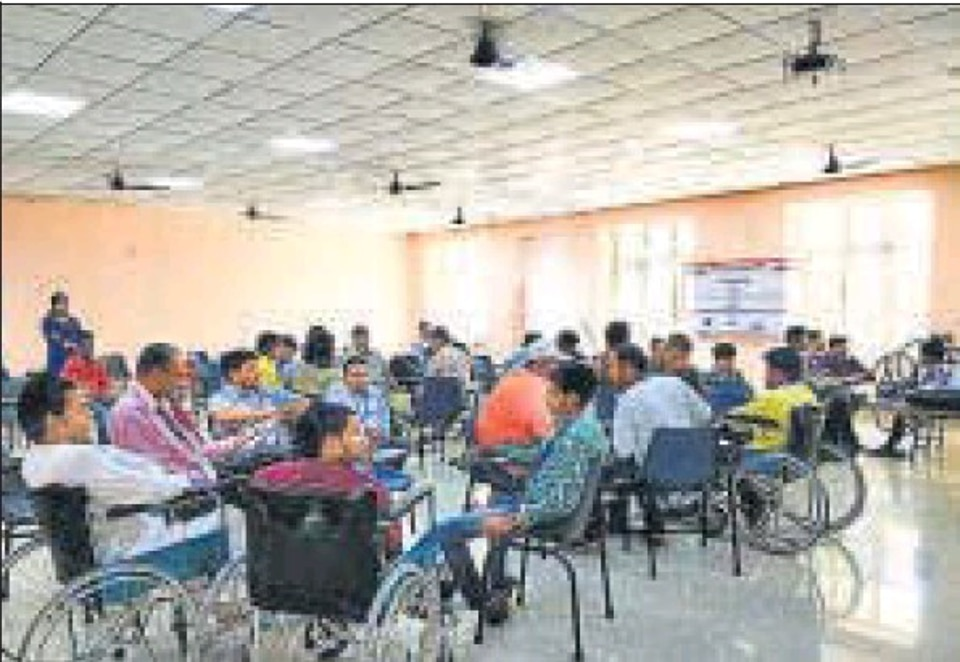 Training differently abled to find new avenues for growth