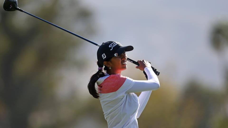 Aditi makes cut at the US Women's Open