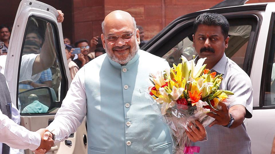 'Another strike on Pak': Amit Shah, Rajnath Singh praise Kohli's men after win