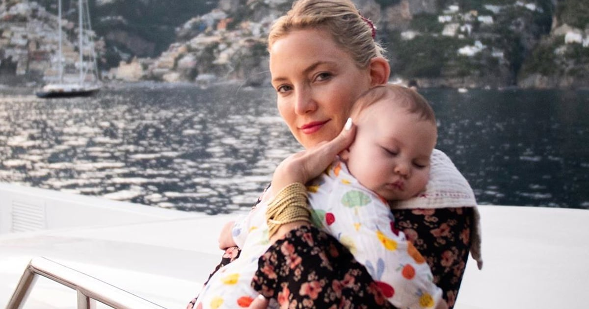 These Adorable Pictures of Kate Hudson's Daughter Will Make Your Heart Burst