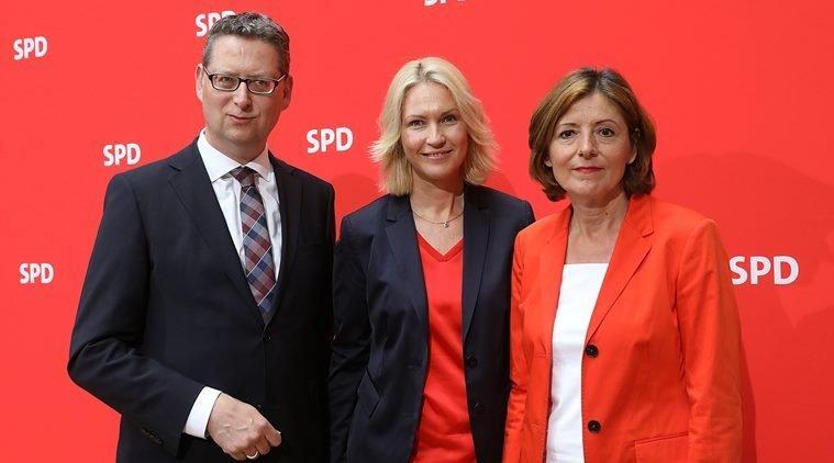 Merkel gets a break as her partner stays in coalition, for now