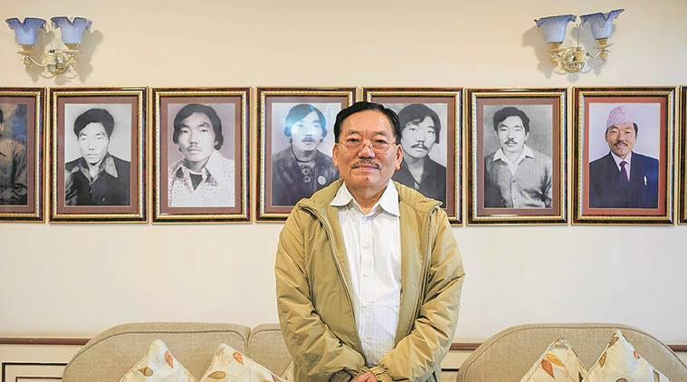 Sikkim enters post-Chamling era, but 100 km from Gangtok, he bides his time