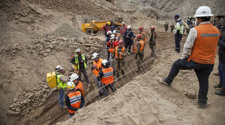Rescue launched for 3 Bolivians trapped in Chile mine