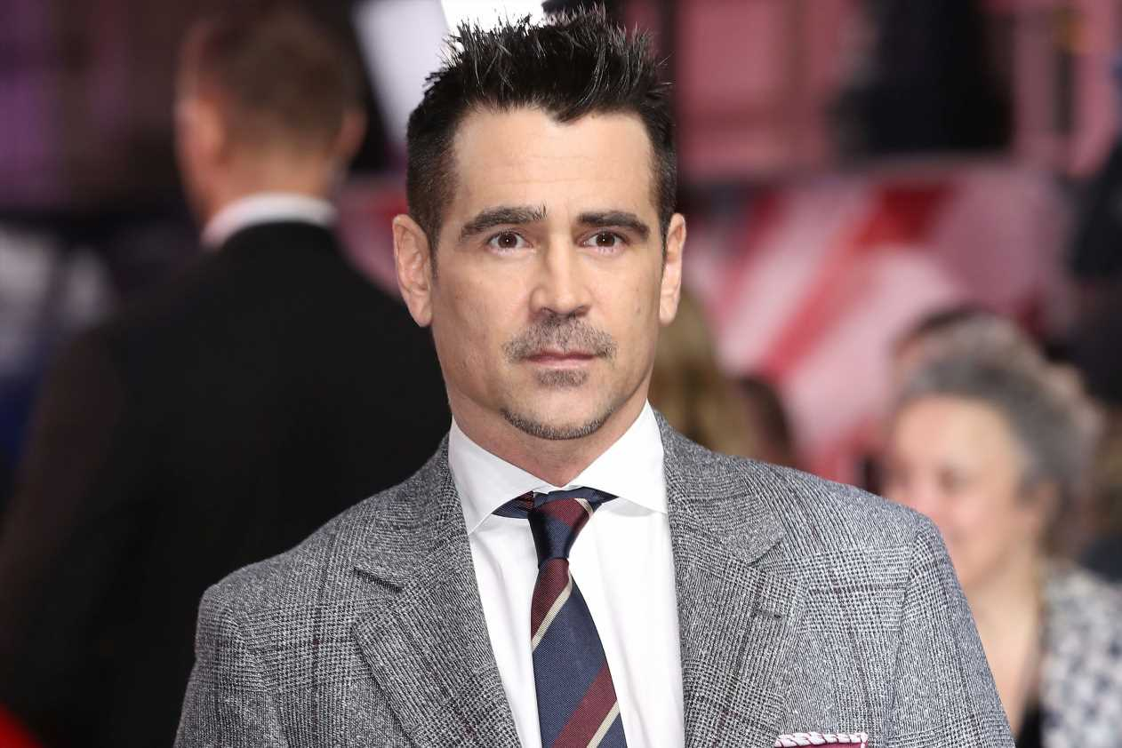 Colin Farrell was once so hungover, it took 56 takes to say one line