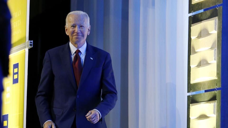 'LGBTQ rights my top-most legislative priority': Joe Biden