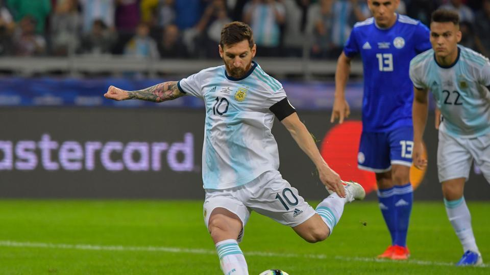 Copa America: Messi penalty, Armani save secure lucky draw for Argentina