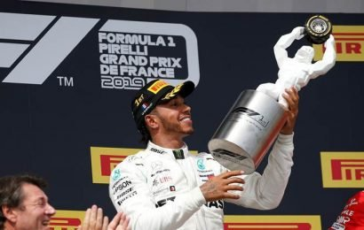 Lewis Hamilton wins French Grand Prix in Mercedes one-two