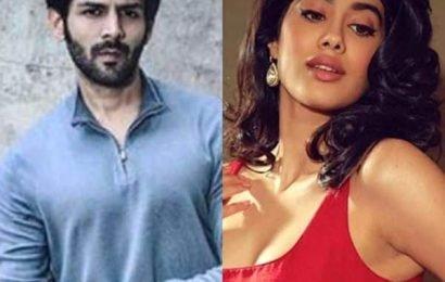 Kartik Aaryan and Janhvi Kapoor to team up for Karan Johar's Dostana 2? | Bollywood Life