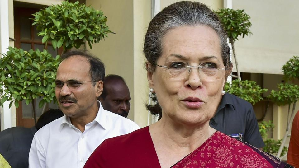 Chants takes over oath-taking in Lok Sabha