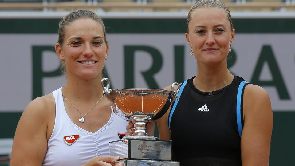 FrenchOpen:Mladenovic and Babos claim women's doubles title in Paris