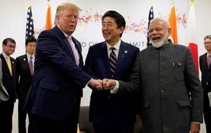 Connectivity, infrastructure key points in Modi's trilateral meeting with Trump, Abe