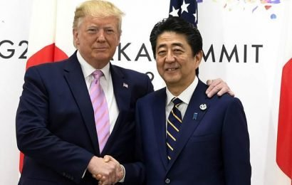 In Japan, Trump pushes allies on trade before meeting Putin