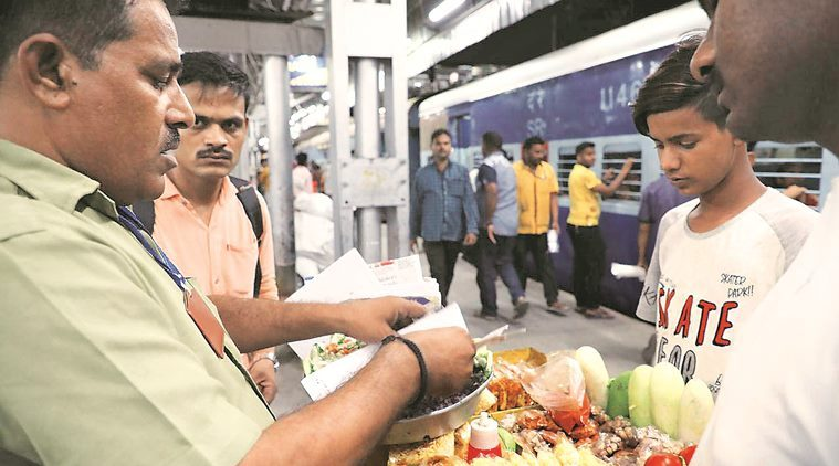 Illegal vendors on train: RPF claims prompt action against them, activists say it's not enough