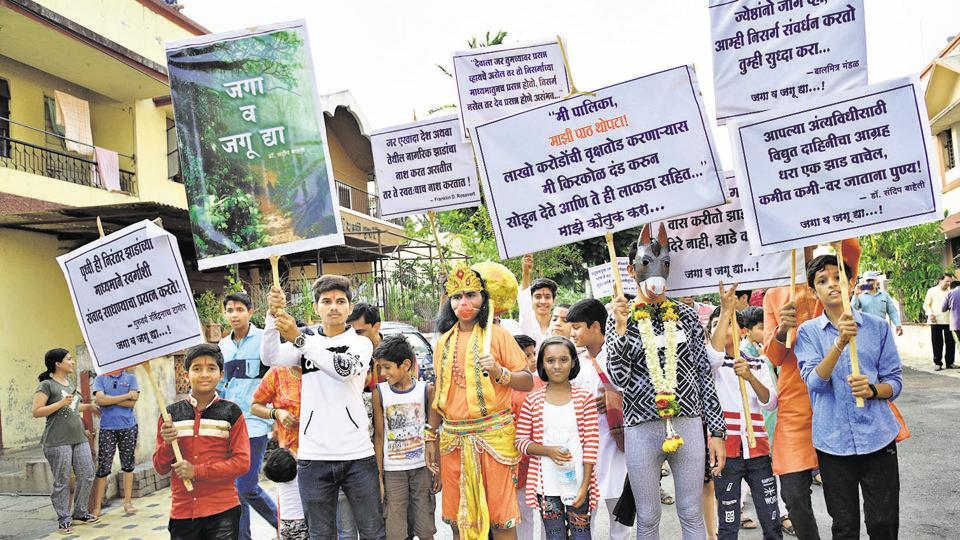 World Environment Day: Punekars get down to earth with green message