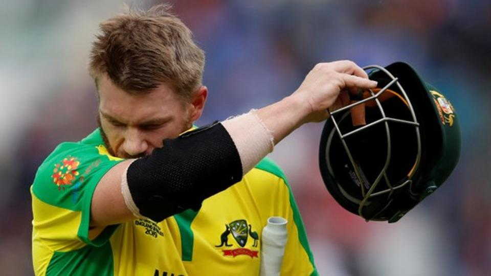 ICC World Cup 2019: Glenn Maxwell gives reason for David Warner's slow knock against India