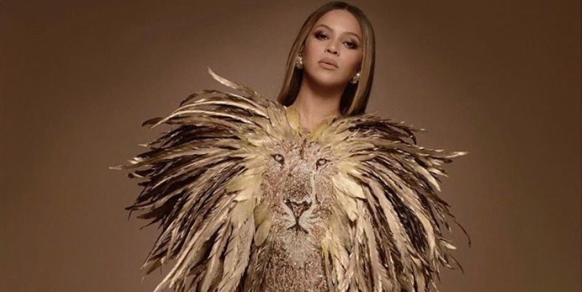 Beyoncé and Blue Ivy Went Full 'Lion King' Glam for a Gala in LA Last Night