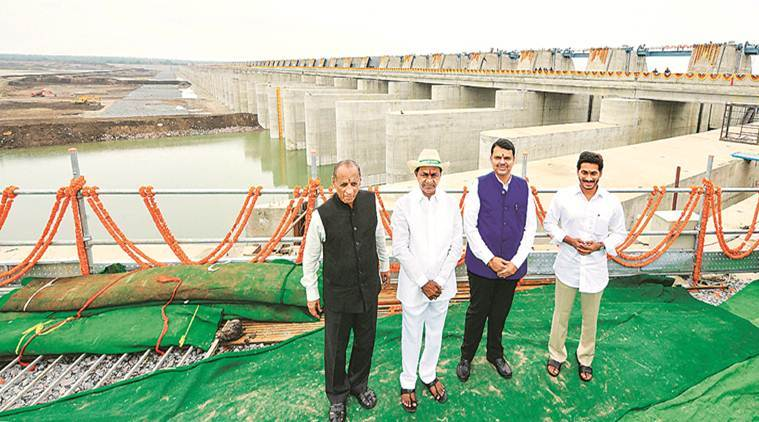 Telangana: Kaleshwaram irrigation project inaugurated