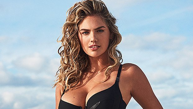 Kate Upton Is A 'Hot Mama' Showing Off Post-Baby Body In Black Bathing Suit 7 Mos. After Giving Birth