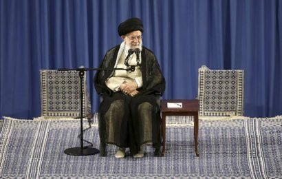 Iran says US sanctions imposed on Khamenei mean end of diplomacy