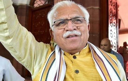 Public campaign will be launched for water conservation: Haryana CM Khattar