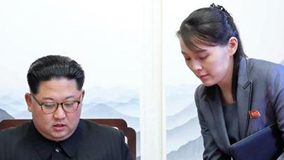 Kim Jong Un's sister back in public eye at North Korea's mass games