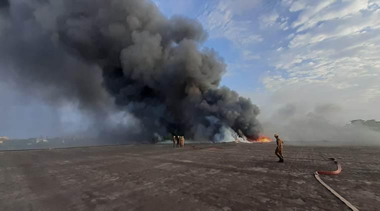 Kolkata fire: Massive blaze at chemical factory near Howrah bridge; no casualties