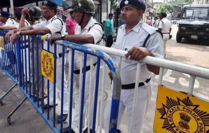 Scuffle breaks out in Bhatpara as cops halt rally of CPM, Congress